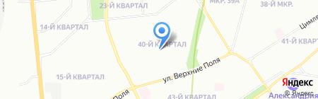 Средняя общеобразовательная школа №2010 с дошкольным отделением на карте Москвы
