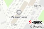 Схема проезда до компании Русский стеллаж в Москве