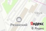 Схема проезда до компании Окна-КС в Москве