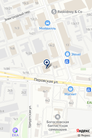 АРГОС-М на карте Москвы