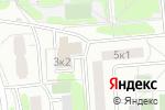 Схема проезда до компании Управа района Зябликово в Москве