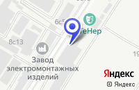 Схема проезда до компании ПРЕДПРИЯТИЕ №1 ТФ МЕТАЛЛСЕРВИС в Москве