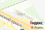 Схема проезда до компании S-Shina в Москве