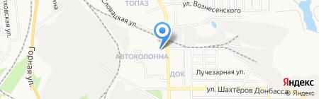 УКРАИНСКИЙ БИЗНЕС БАНК на карте Донецка