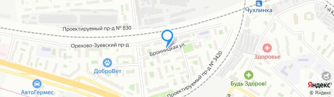 Бронницкая улица