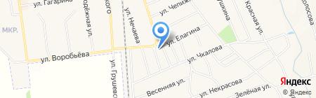 АЗС АНП на карте Авдеевки