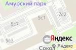 Схема проезда до компании Skiff в Москве