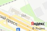 Схема проезда до компании Д-Линия в Москве