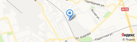 МКП-3 на карте Донецка