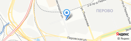 ИНТРОН ПЛЮС на карте Москвы