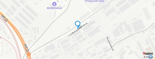 проезд Иртышский 1-й