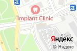 Схема проезда до компании Центр автострахования в Москве