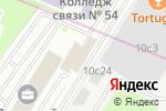 Схема проезда до компании Fesg Service-Group в Москве