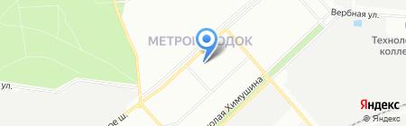 Мясо на карте Москвы