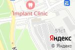 Схема проезда до компании Шиномонтажная мастерская на ул. Маршала Чуйкова в Москве