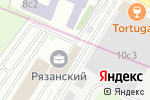 Схема проезда до компании Aloha Studio в Москве