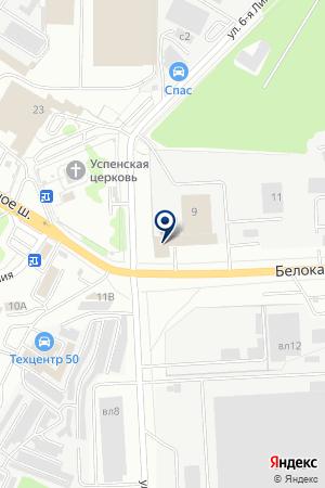 АВТОТРАНСПОРТНАЯ КОМПАНИЯ КОМПАТ-ВИДНОЕ на карте Видного