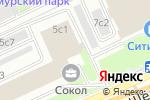 Схема проезда до компании InDaDom в Москве