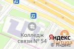 Схема проезда до компании Центр профессиональной подготовки в Москве
