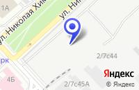 Схема проезда до компании ПТФ ПРОЕКТПРОМИНДУСТРИЯ в Москве