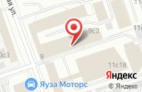 Схема проезда до компании Инжкомсвязь в Москве