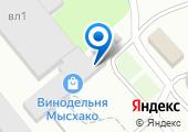 Мысхако, ЗАО на карте