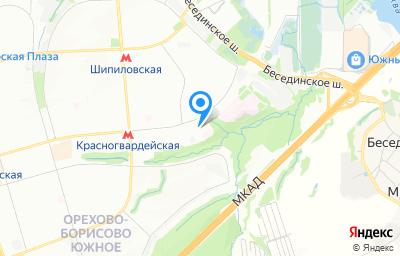 Местоположение на карте пункта техосмотра по адресу г Москва, б-р Ореховый, д 26А