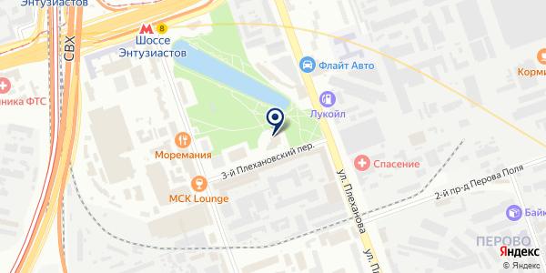 Партнер Лизинг на карте Москве