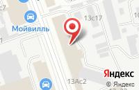 Схема проезда до компании Веллис в Москве
