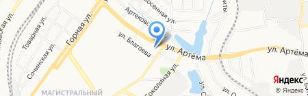 Банкомат CityCommerceBank на карте Донецка