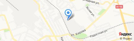 Commus на карте Донецка