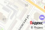 Схема проезда до компании Оконница в Новороссийске