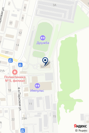 МУП СТАДИОН ДРУЖБА на карте Мытищ
