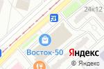 Схема проезда до компании Кедр в Москве