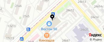 Ae-Parts на карте Москвы
