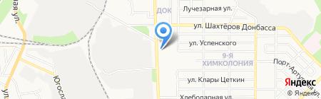 Строй-Арт на карте Донецка