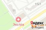 Схема проезда до компании АПК Групп в Москве
