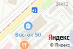 Схема проезда до компании АНИ в Москве