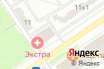 Схема проезда до компании Кухни-Виза в Москве