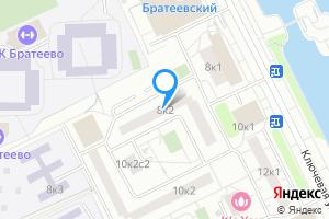 Сдается двухкомнатная квартира в Москве Ключевая ул., 8к2