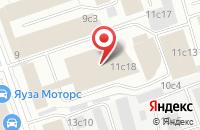 Схема проезда до компании Ургаз в Москве