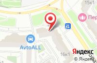 Схема проезда до компании Флора Трейд в Москве