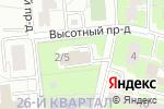 Схема проезда до компании Аль Файз в Москве