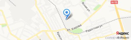 Укрперспектива на карте Донецка