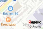 Схема проезда до компании ЕИРЦ района Метрогородок в Москве