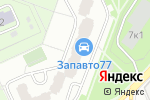 Схема проезда до компании Мода дома в Москве
