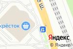 Схема проезда до компании 36,6 в Домодедово