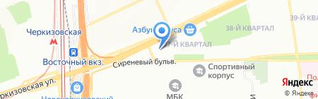 Технополис на карте Москвы
