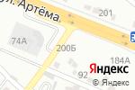 Схема проезда до компании Красная Звезда в Донецке