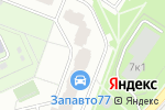 Схема проезда до компании Сава Сервис в Москве